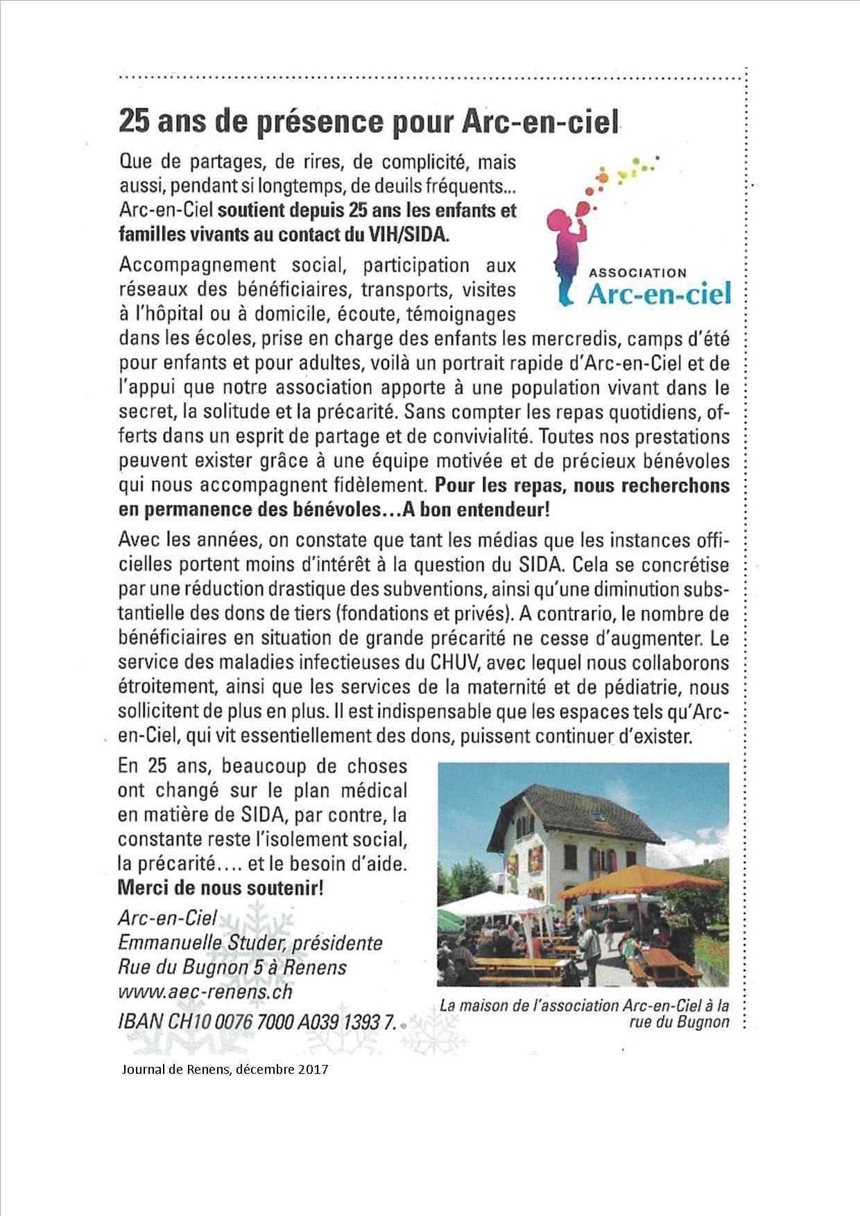Journal de Renens 12.2017